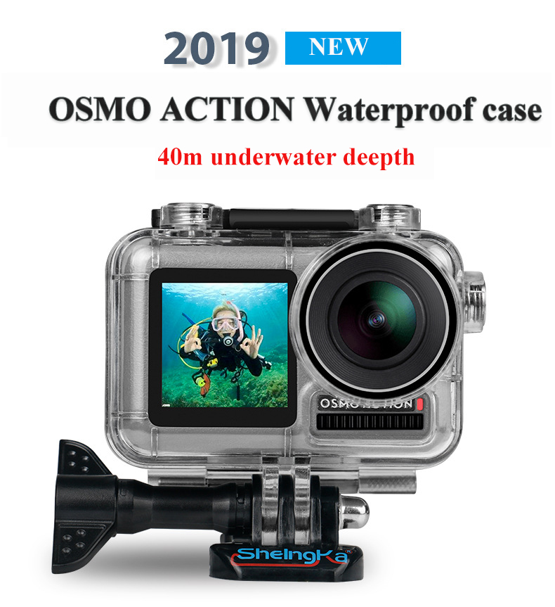 Xiaoyi and Other Action Cameras Reliable DJI OSMO Action Fixed Metal Motorcycle Holder Mount for GoPro HERO8 Black//Max // HERO7 Color : Red