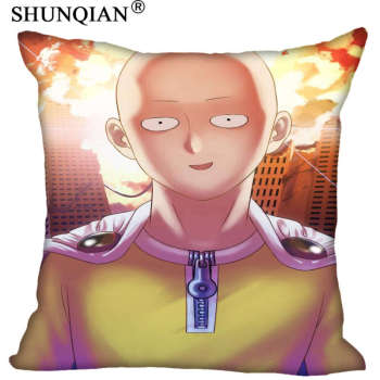 New Arrival One Punch Man Pillowcase Wedding Decorative Pillow Case Customize Gift For Pillow Cover A815