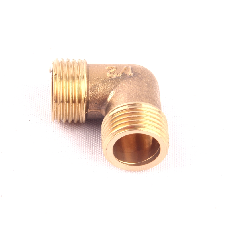 10pcs 1 2 inch male thread brass elbow connector 90 degree. Black Bedroom Furniture Sets. Home Design Ideas