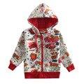 Белый красный мальчики толстовки детская одежда толстовки куртки застежки-молнии детская одежда новый год спортивные костюмы baby дети одежда из хлопка