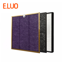 Economical Cleaner Filter Kits Multi-function Screen+Activated Carbon Filter+HEPA for AC4002 AC4004 AC4012 Air Purifier