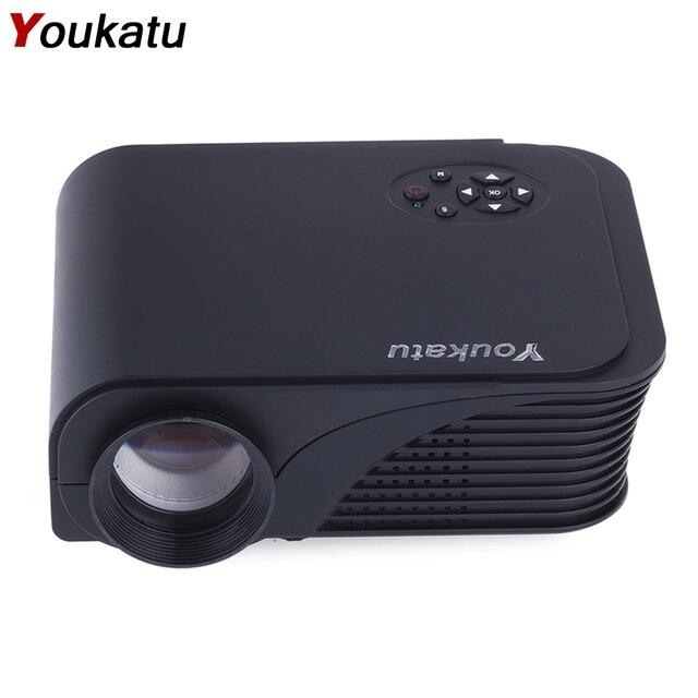 S320 Youkatu Mini Projetor LCD 1800 Lumens 800x600 HDMI VGA USB PC AV Teatro Full HD Multimedia Player para Empresa e Em Casa
