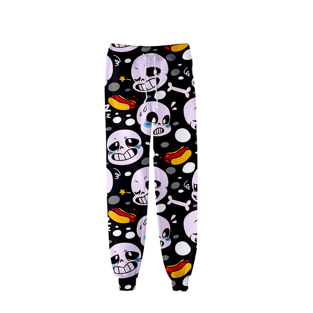 Undertale Video Game Streetwear Pants Men Jogger Hip Hop Harem Pants Men Clothes 2019 Joggers Trousers Men Pants Sans 3D Prin