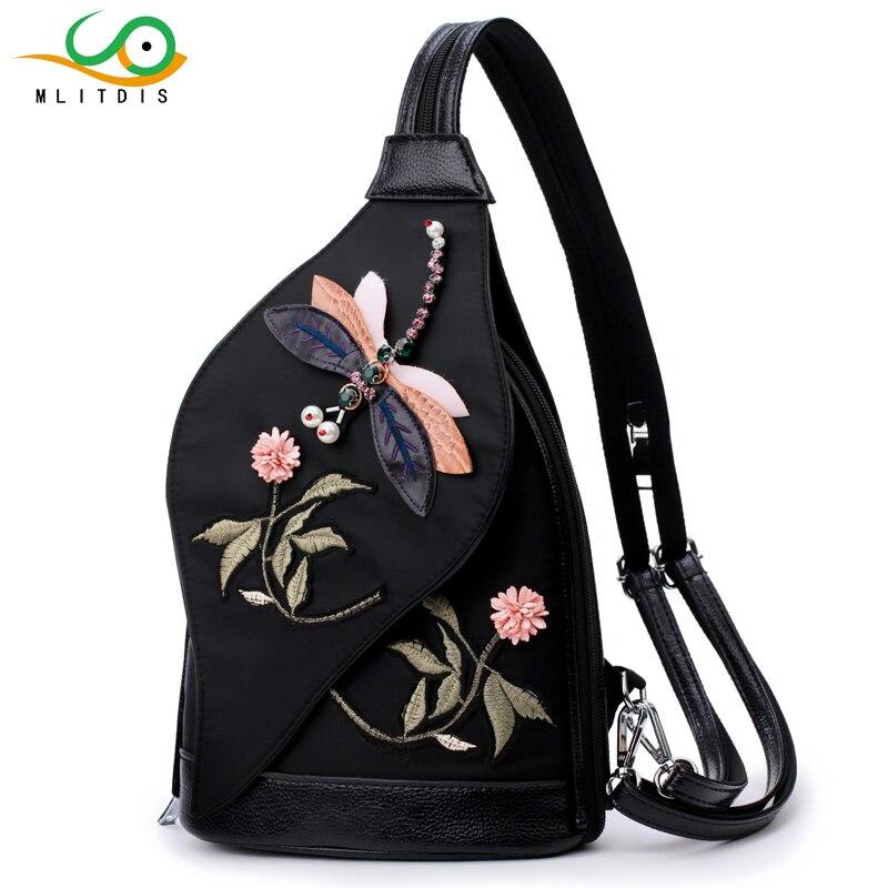 MLITDIS Multifunción Fanny Pack Para Mujeres Paquete de Pecho A - Bolsas de cinturón