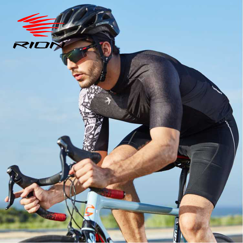 RION Men Cycling Jersey Motocross Short Sleeves Tops Bicycle Retro MTB Downhill Shirt Road Bike Team Autumn Sports Men Clothing 1