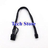 Бесплатная DHL EMS Mac pro G5 100 шт. оптовая продажа мини 6pin для pcie 8pin 8 pin видеокарты силового кабеля поддержка GTX480 gtx680