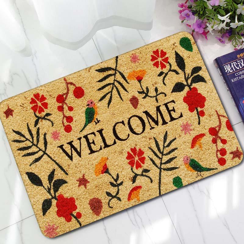 45x70cm Retro Colorful Mats Anti Slip Carpet Floor Mat