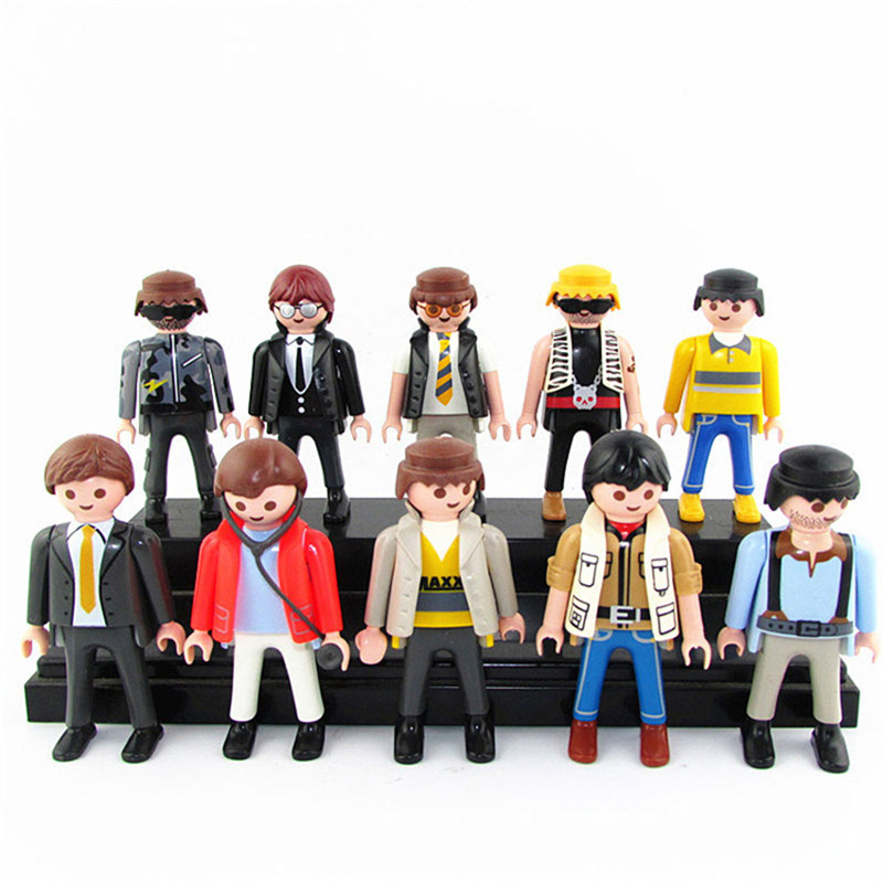 10pcs/set Action Figures Toys 7CM Classical Collection Toy