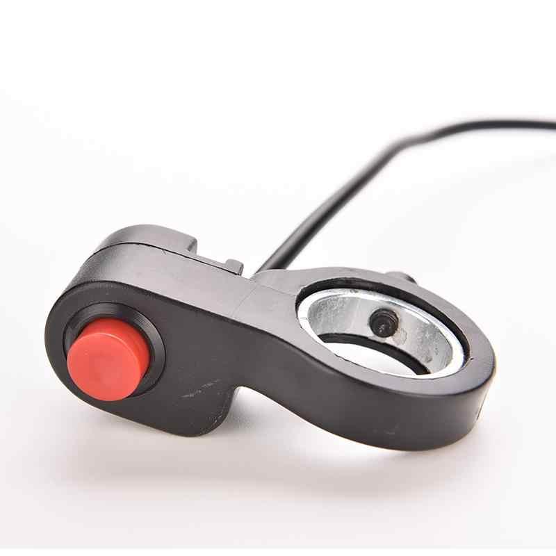 Interrupteur universel de guidon de moto | 0.7m, nouveau interrupteur de guidon de moto 7/8 ''E câble de commutateur unique ATV klaxon démarreur de démarreur de bouton de destruction 1 pièce