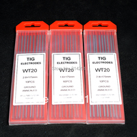 TIG welding Tungsten Thoriated Electrodes wth 2.4*175mm,quality Guarantee