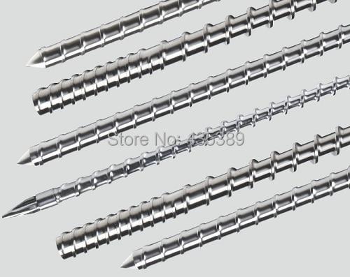 1 pcs 55/30mm Single screw for plastic machine 55mm screw
