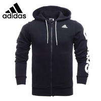 Original New Arrival 2016 Adidas Lin Fz Hood B Men S Jacket Hooded Sportswear Free Shipping