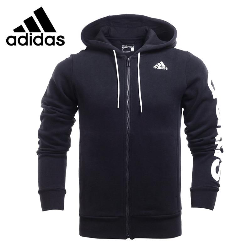 Original New Arrival  Adidas Lin Fz Hood B Men's jacket Hooded Sportswear original new arrival adidas lin fz hood b men s jacket hooded sportswear