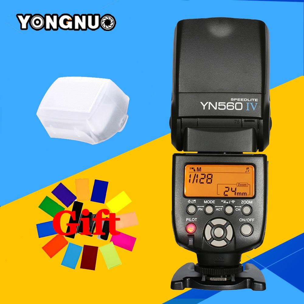 Wireless Master Flash Speedlite Yongnuo YN560 IV YN560IV For Canon Nikon Pentax Olympus Fujifilm Panasonic DSLR Camera YN560-IV godox tt560 camera flash speedlite for canon 60d 550d 600d 700d 1000d 1100d nikon sony panasonic olympus fujifilm dslr cameras