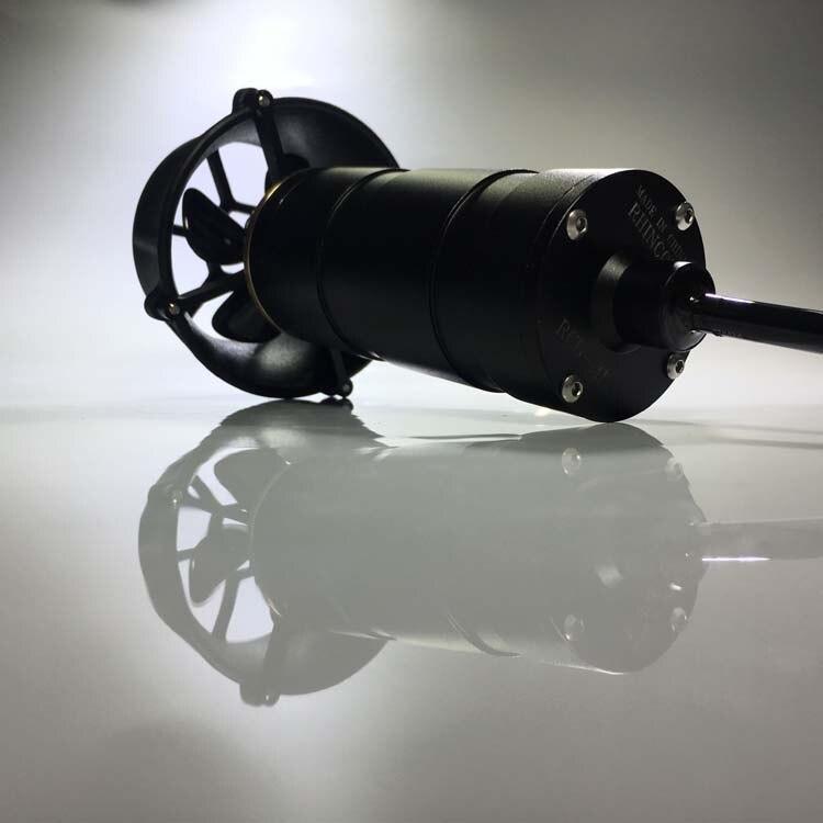 RCD-MI50 Thrust 5KG Underwater 300M 24V Oil Sealed Thruster Propulsor Used Brush DC Motor for ROV AUV Submarine Robot RC Boat