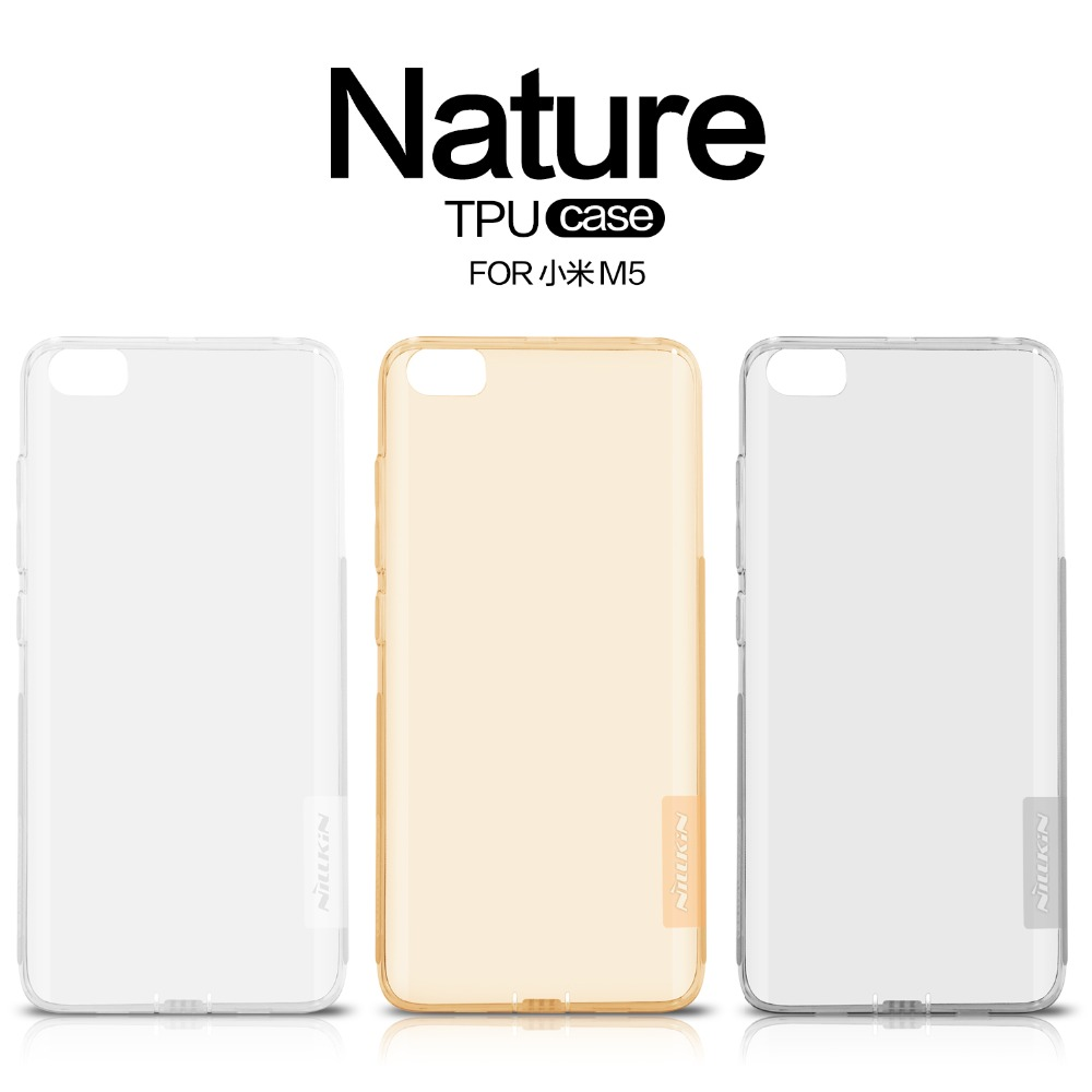 Xiaomi Mi5 Case Tpu Cover Nillkin Nature Lg G6 Transparent Clear Soft Back Luxury Brand With Retailed Package