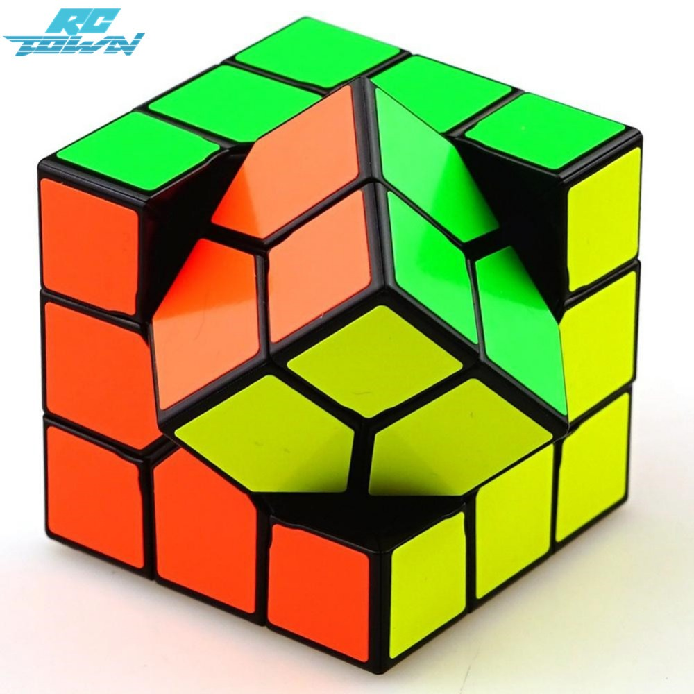 RCtown 3rd order Magic Cube Creative Cube Brain Teaser Puzzle Cube for Magic Cuber Professional Players Lovers zk30 8061 3x3x3 brain teaser magic iq cube multicolored 6 pcs