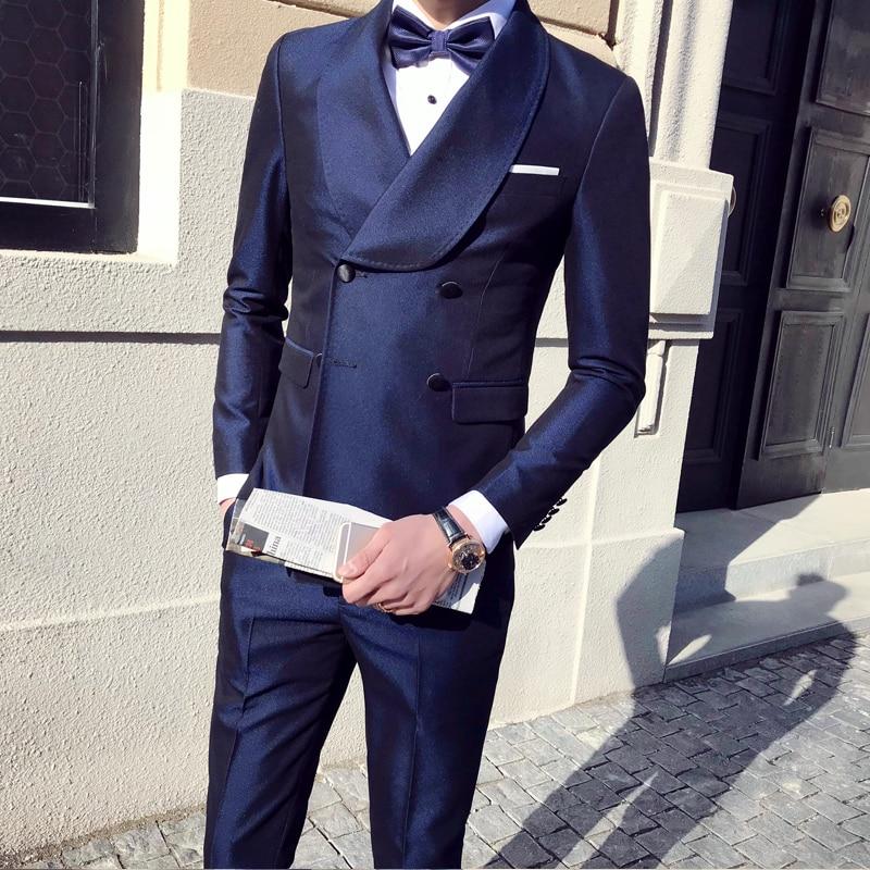 Rouge Pièces S Pantalon Mode Trois Slim tops Costumes amp; De D'honneur La 039; À Gilets Vin Mariage Jeune Garçons Hommes Angleterre Affaires Swpq87