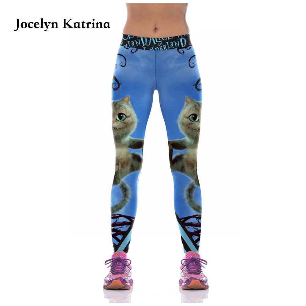 Jocelyn Katrina 2017 New Training Fitness Yoga Pants Ladies Running Leggings Compression Pants