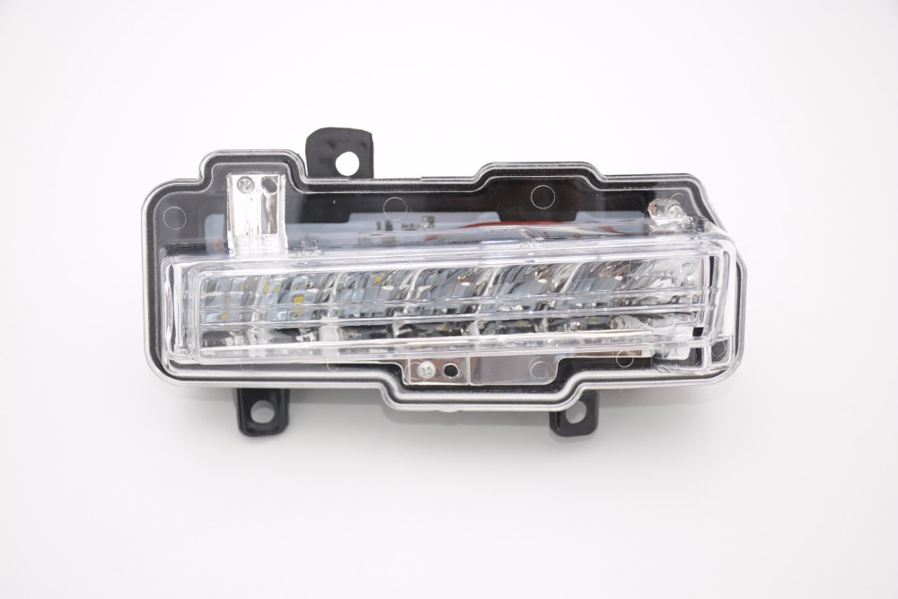 1Pcs Left side front bumper DRL daytime running light driving fog lamp light 8312A019 For Mitsubishi Pajero 2015-2016 for opel astra h gtc 2005 15 h11 wiring harness sockets wire connector switch 2 fog lights drl front bumper 5d lens led lamp