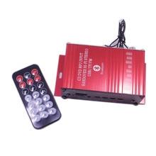 Car amplifier Bluetooth AUX FM USB SD TF Digital Player MP3 Music Audio Radio Stereo Player moto speaker Car stereo amplifier