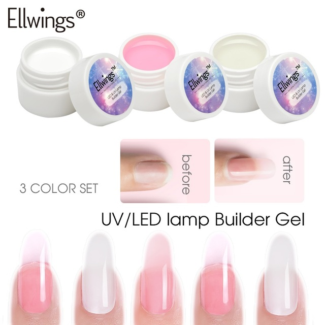 Ellwings Building Gel Kits Uv Construtor To Build Nails Builder Clear Nail