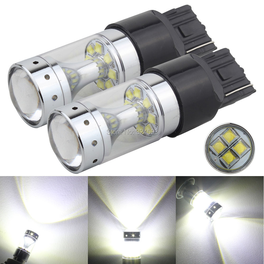 H3 Super White CREE LED 60W 7200LM Headlight Kit Fog Light Lamp DRL XML2 6000K