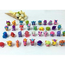 10PCS/LOT Animals Eggs Dolls Action Figure Fly Horse Fish Pet Toys For Children Birthday Gift