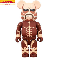 27 Bearbrick Gloomy 1000% Be@rbrick BB Attack On Titan Basic PVC Action Figure Collectible Model Toy 70CM D393