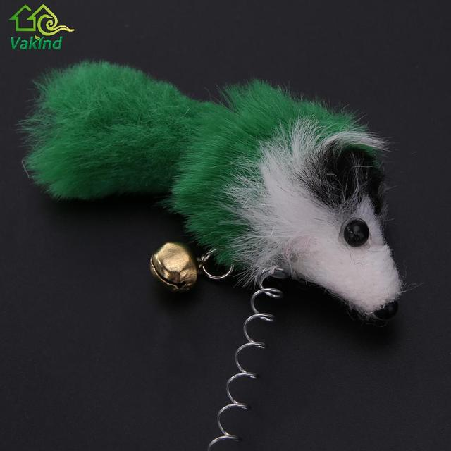 Elastic Feather Toys Animal for Pet