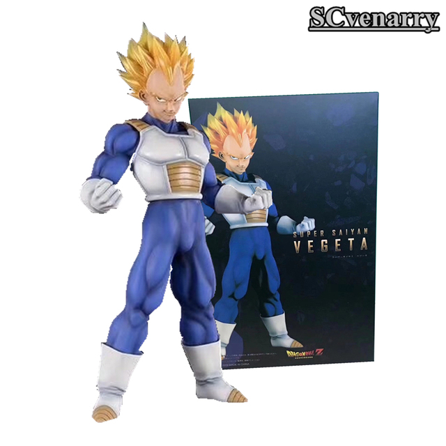 Dragon Ball Z Vegeta Super Saiyan Anime Action Figure Collection figures toys Collection for Christmas gift 23CM