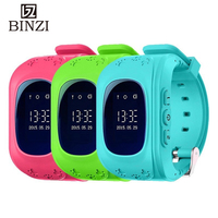 BINZI Children Watch For Kids Girls Boys GPS Bluetooth Smart Watches Led Digital Sports 2018 For Phone Clock Wristwatch Gifts