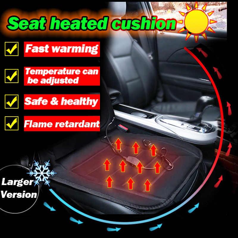 Heated Car Seat Cushion Cover Winter Seat Heating Heater Warmer Driver Chair Warm thermal Heat Cushion Accessories 35W 12V
