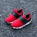 2017 diseño de marca niños zapatillas de deporte de moda niños casual shoes niños niñas ocio shoes niños sport shoes para correr