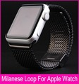 Milanese loop watch band stainless steel mesh wraps for Apple Watch magnetic closure clasp bracelet strap 38mm 42mm iwatch band