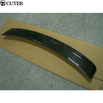 A4 B8 B9 carbon fiber Auto Car roof top Wing Spoiler For Audi A4 B8 B9 Sedan 09-16
