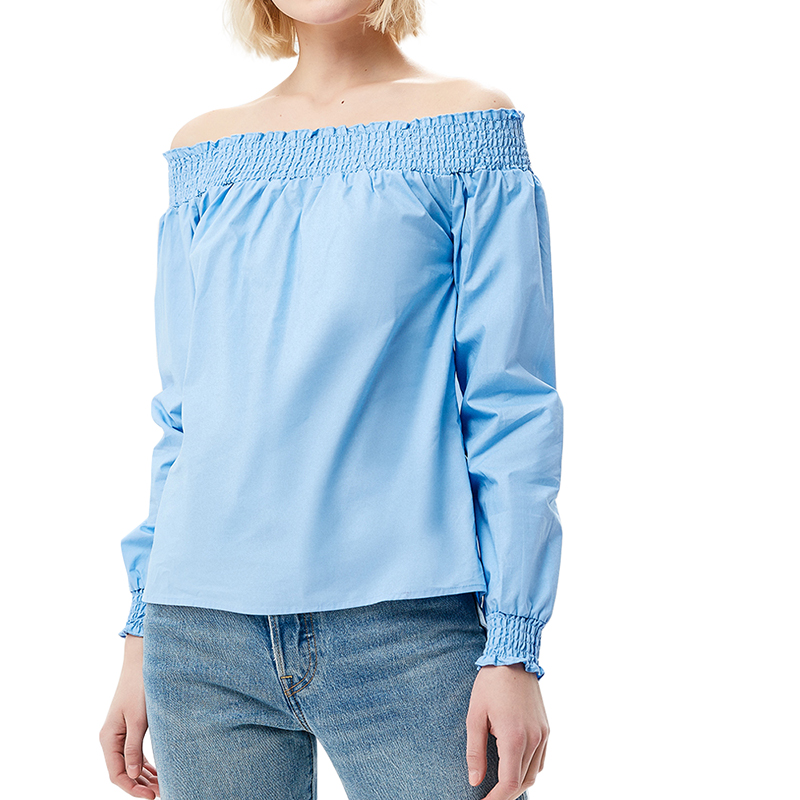 Blouses & Shirts MODIS M181W00477 women blouse shirt  clothes apparel for female TmallFS