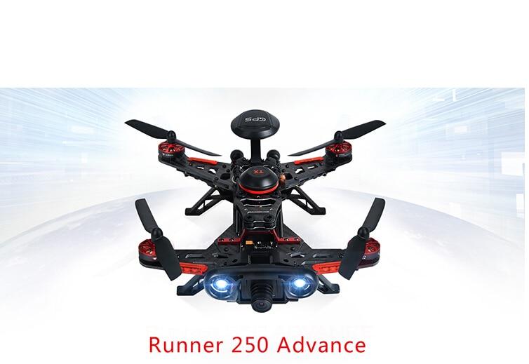 Original Walkera Runner 250 Advance GPS System RC Drone Quadcopter RTF with DEVO 7 Remote Control / OSD / Camera / GPS V4 F16182