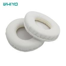 Whiyo branco almofadas de ouvido para urbanears plottan over-ear fone de ouvido capa de almofada earpads substituição headphoens peças