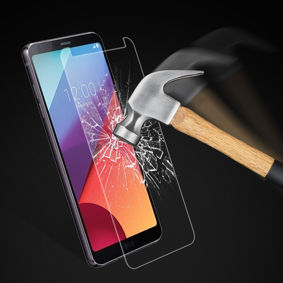 Image 2 - 2PCS Screen Protector sFor LG G6 Glass Phone Tempered Glass For LG G6 LGG6 Screen Protector G 6  H870 H873 Anti Scratch Film-in Phone Screen Protectors from Cellphones & Telecommunications