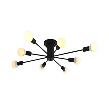 Nordic loft led Pendant down Lights for dining living room bedroom ceiling hangLight Fixtures Black/Gold/White with E27 bulb