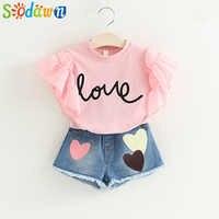 Sodawn Sommer Stil Mädchen Kleid Mädchen Kleidung Mode Kinder Weste Cowboy Kleid Kinder Kleidung Party Prinzessin Kleid