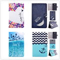 "For Samsung Galaxy Tab 3 Lite 7.0"" Inch T110 T111 Painted National Case Book Cover Quality Flip Leather Stand Protective Case"