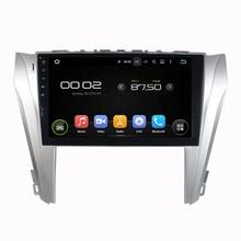 8 Core, 2G RAM, 32G ROM, 10.1 pulgadas Android 6.0 Sistema de Navegación GPS de Radio Del Coche Reproductor Multimedia Estéreo para Toyota Camry 2014 2015