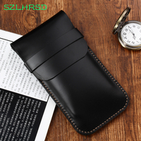 SZLHRSD New for AGM X2 X1 A8 Mini A7 A1Q A2 Rio M1 M2 X3 Case protective cover Genuine Leather phone bag All inclusive anti fall