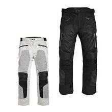 Дышащая Летняя Сетка мотоцикл брюки мужские брюки для верховой езды ралли брюки