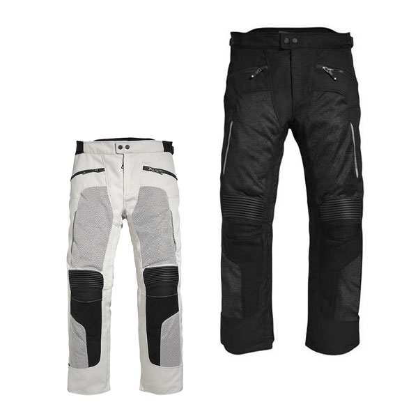 Summer mesh breathable motorcycle pants men riding pants rally pants