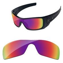 e519a4c68e939 Púrpura rojo espejo polarizadas lentes para Batwolf gafas de sol marco 100%  UVA y UVB protección