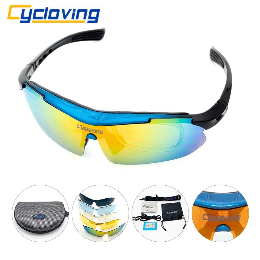 Prix pour Cycloving Vélo lunettes de Soleil Sport Vélo lunettes de soleil TR90 Lunettes Ensemble Hommes/Femmes Lunettes VTT Vélo vélo lunettes