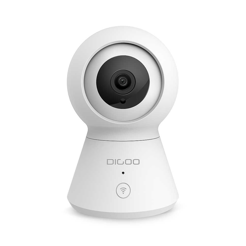DIGOO DG-K2 1080P PTZ Security IP Camera TF Card Cloud Storage Support for Smart Life Tuya APP Alexa Google Smart Voice Control